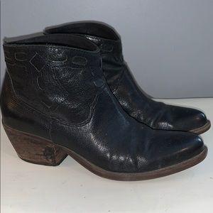 Nine West ankle cowboy boots woman's 6